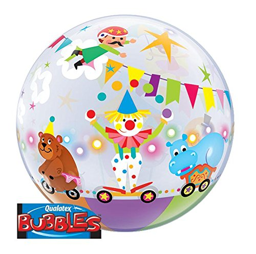 Qualatex 64.117,2cm Single Circus Parade 2,5cm Bubble Ballon, 22 (Möbel Bubble)