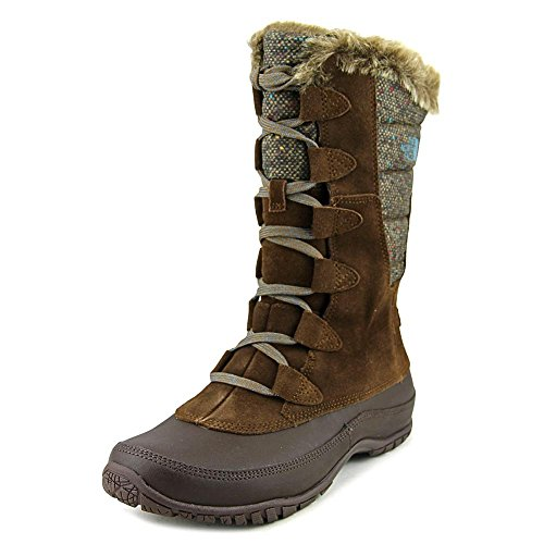 The North Face Nuptse Purna Mujer US 6 Marrón Bota de Nieve