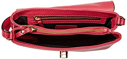 Loxwood - Petit Sac Crossover Cuir, Borsa a tracolla Donna Rose (Orchid)