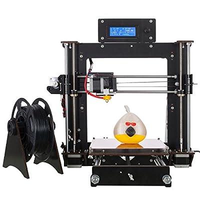 Win-Tinten New Desktop DIY 3D Printer Kits, Upgraded Full Quality LCD 1x1.75mm ABS/PLA Filament …