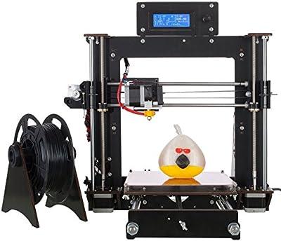 impresora3D mejorada, alta Precisión 1.75mm ABS/PLA DIY