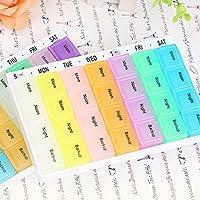 Tablettenbox für 7Tage Pille Organizer 28fach Weekly Pille Box von Morning Noon Night Backup preisvergleich bei billige-tabletten.eu