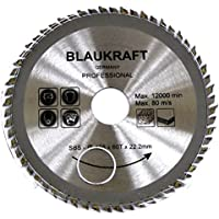 Hoja de sierra para ANGULADORA 125 mm para madera Discos de corte circular 125x22x60T TCT
