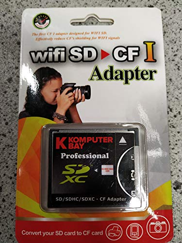 Komputerbay SLIM CF Adapter SD SDHC SDXC WiFi-SD eyefi zu Typ I Compact Flash CF-Karte (Typ Sd-cf-card Adapter 1)