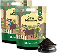Ugaoo Cow Dung Manure Fertilizers for Plants & Home Gardening - 1