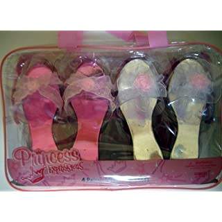 Princess Expressions 4 Pair Dress Up Shoes by Almar