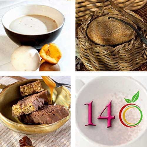 Régimen Adelgazante Hiperproteico vegetarianos Paquete 14 días 33 productos 1 coctelera y 1 guía de regalo – pérdida de peso optimizada en 2 semanas