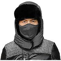 Multifunzionale uomo donna invernale caldo cappello trapper Trooper Walking  Skiing Aviator caccia neve Eskimo cappello Ushanka 148d295aa190