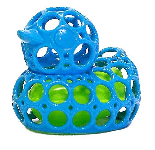 Oball - Bath Duck, verschiedene Farben, 10 x 9 x 7 cm, Badeente