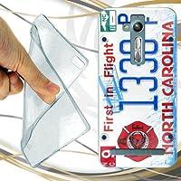 CUSTODIA COVER CASE TARGA NORTH CAROLINA PER ASUS ZENFONE GO HD 5.0 ZB500KL