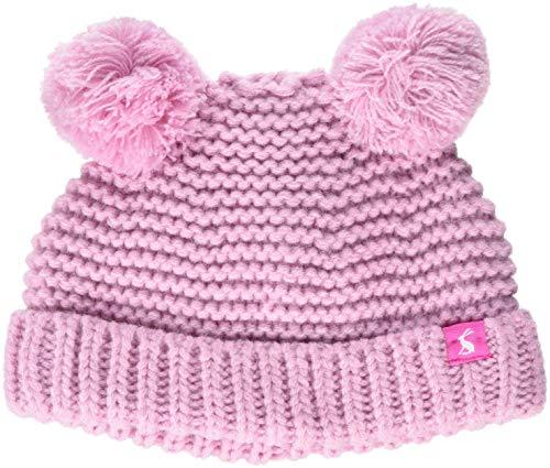 (Joules Baby-Mädchen Mütze pom, (Dusk Pink), M)