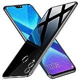 Peakally Huawei Honor 8X Hülle, Soft Silikon Dünn Transparent Hüllen [Kratzfest] [Anti Slip] Durchsichtige TPU Schutzhülle Case Weiche Handyhülle für Huawei Honor 8X -Klar