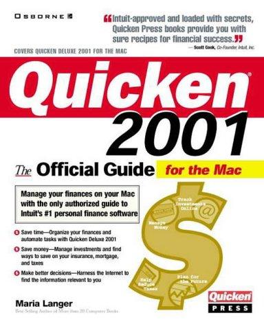 Quicken(r) 2001 Deluxe For Macin...