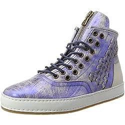 A.S.98 Damen Mabel Sneaker, Blau (Mirtillo/Mirtillo/Bianco), 37 EU