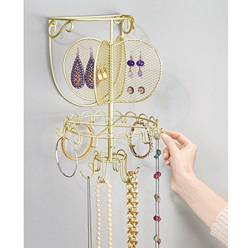 Mdesign porta gioielli da muro comoda alternativa - Porta gioielli fatti in casa ...