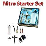 HSP Himoto Nitro-Starter set für Jamara, Carson Modelle, passend für RC ferngesteuerte Verbrenner-Fahrzeuge, Auto