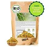 BIO Hanfprotein aus Deutschland 500g + Gratis Smoothie E-Book (PDF), DE-Öko-070, Vegan Protein aus Hanfsamen, Low Carb