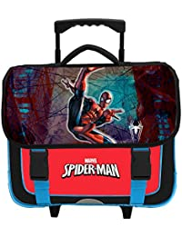 Spiderman - Cartable scolaire à roulettes - Collection officielle