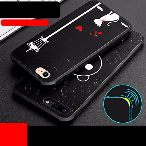UKDANDANWEI Apple iPhone 7 [QKS] TPU Souple Housse de Protection Case Téléphone Pour Apple iPhone 7 - Style(07) Style(10)