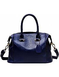 Bolso Femenino Simple Bolso de Mano Burton Paquete Diagonal Hombro , azul