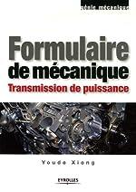 Formulaire de mécanique - Transmission de puissance de Youde Xiong