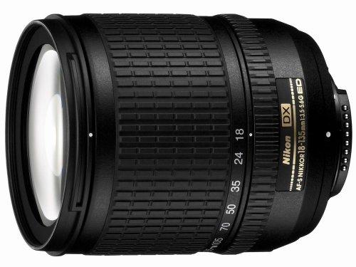 Nikon AF S DX 18-135/3,5-5,6G IF-ED Objektiv (67mm Filtergewinde) inkl. HB-32 Sonnenblende