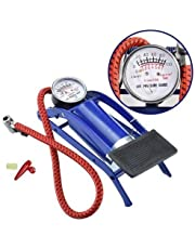 gs GREATERSCAP Portable High Pressure Foot Pump/Air Tyre Inflator/Pump Compressor |for Bike/Car/Cycles & All Vehicles |Pack of 1