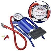 HARSH IMPEX Portable High Pressure Foot Pump/Air Tyre Inflator/Pump Compressor |for Bike/Car/Cycles & All Vehicles |Pack of 1