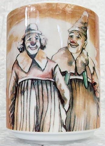 Clown En Porcelaine - CLOWN eMELLO bOPLA nOSTALGIE cirque maxi tasse