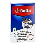 Bolfo Zecken- und Flohschutzband braun für Katzen und kleine by Bayer Vital GmbH GB - Tiergesundheit