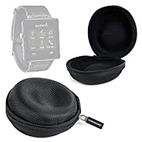 DURAGADGET Premium Quality Garmin Smartwatch Storage Case - Durable Shock Resistant EVA Protective Hard Shell Case in Black for Garmin Edge 200 / Edge 520 / Edge 20 / Vivoactive GPS Smartwatches