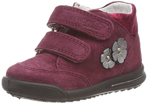 Superfit Baby Mädchen Avrile Mini Sneaker, Rot (Rot 50), 23 EU