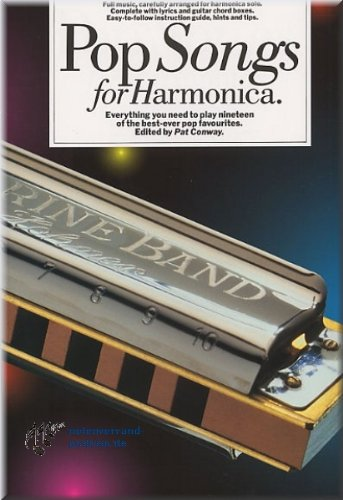Pop Songs for Harmonica - Mundharmonika Noten [Musiknoten]