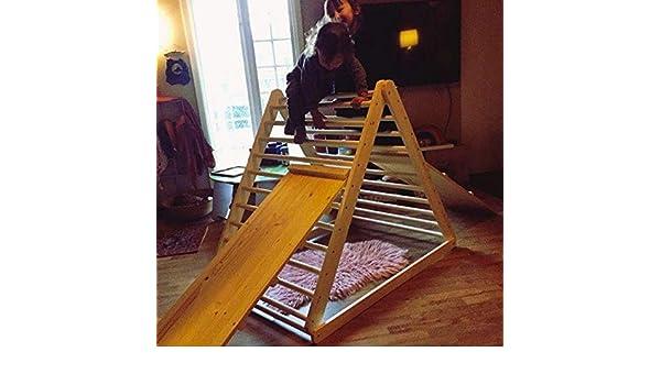 Kletterdreieck Weiß : Pikler dreieck schrittdreieck kletterleiter für kleinkinder