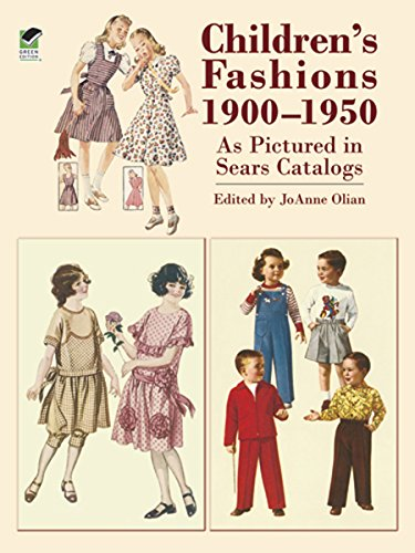 Children's Kostüm 1950's - Children's Fashions 1900-1950 As Pictured in Sears Catalogs (Dover Fashion and Costumes) (English Edition)