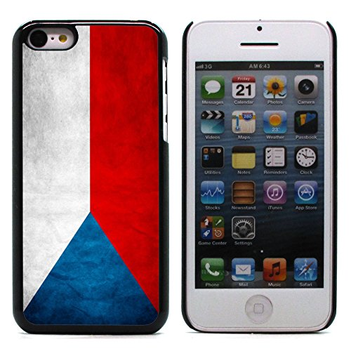 Graphic4You Vintage Uralt Flagge Von Portugal Portugiesisch Design Harte Hülle Case Tasche Schutzhülle für Apple iPhone 5C Tschechische Republik