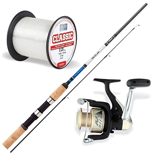 Stollenwerk Allround Angelset Combo No.6 - Shimano Rute + Shimano Rolle + Asso Schnur