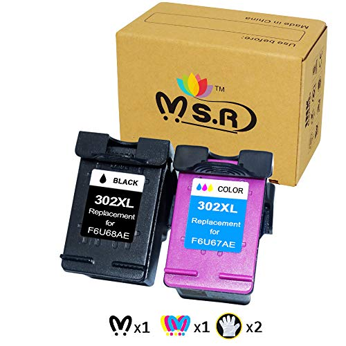 MSR - Cartuchos Tinta remanufacturados HP 302 302XL