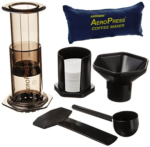 , Aerobie AeroPress Coffee Maker with Tote Storage Bag, Best Coffee Maker, Best Coffee Maker