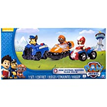 Spin Master - Paw Patrol Rescue Racers 2, Chase, Zuma e Ryder