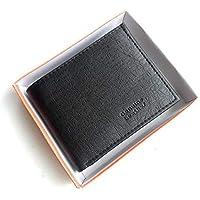 INDIJOY Men's Wallet (Black)