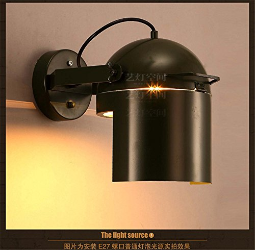 Modern LED Wandleuchte Loft cap wandleuchte kreative cafe restaurant bar persönlichkeit dekoration schmiedeeisen gang sonde wandleuchte durchmesser 180mm hoch 240mmHaus, Bar.Vintage Retro Café. -