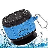 Altoparlante per doccia, Altoparlante Bluetooth Impermeabile da Doccia Speaker Stereo Cassa Portatile per doccia Senza fili Bluetooth impermeabile IPX7 con FM Radio per Bagno Piscina Spiaggia Outdoor