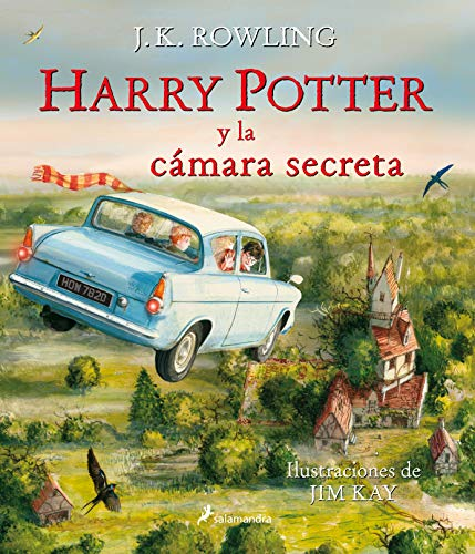 HARRY POTTER Y LA CAMARA SECRETA Ilustrado Harry Potter