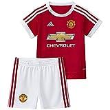 Adidas MUFC H BABY–Trainingsanzug für Babys, Rot/Weiß, unisex, rot / weiß, 9 Monate