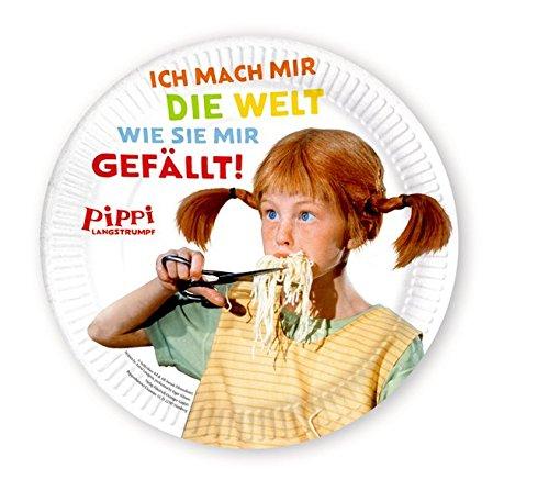 (Pippi (Film) Pappteller: 8 Stück)