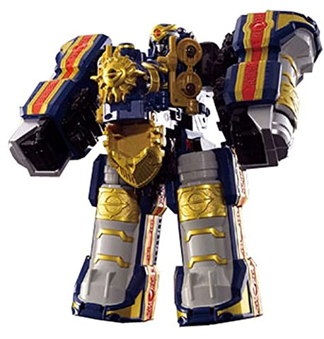 Power Rangers Mystic Force Dx Solar Streak Megazord Magiranger Travelion