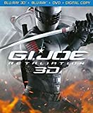 G.I JOE RETALIATION 3D BLU-RAY + BLU-RAY + DVD [COMBO-PACK]