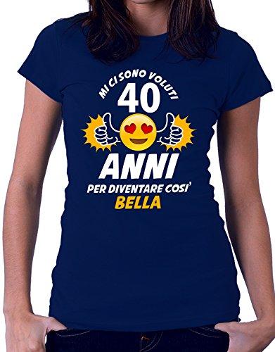 Tshirt compleanno mi ci sono voluti 40 anni per diventare così bella - eventi - idea regalo - compleanno - tutte le taglie