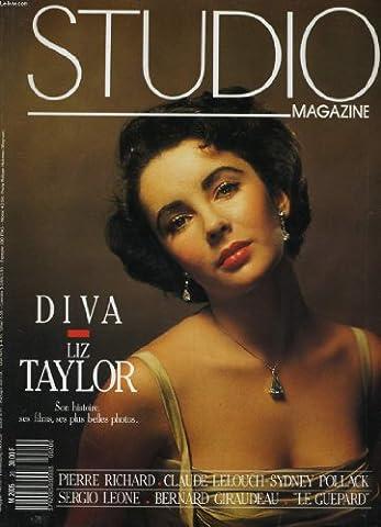 Studio magazine n° 20 - liz taylor, son histoire, ses films, ses plus belles photos - perrie richard - claude lelouch - sydney pollack - bernard